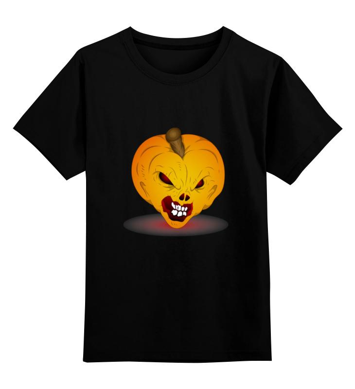 Детская футболка классическая унисекс Printio Зомби тыква поиск семена тыква марсельеза