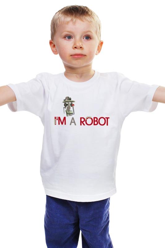 Детская футболка классическая унисекс Printio Robot2 детская футболка классическая унисекс printio 62 2% в саратове