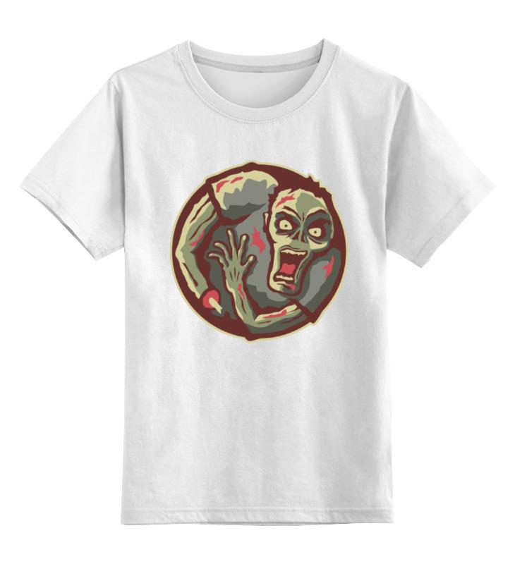 Детская футболка классическая унисекс Printio Зомби детская футболка классическая унисекс printio зомби