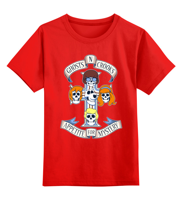 Детская футболка классическая унисекс Printio Mystery футболка mystery carlin junebug white