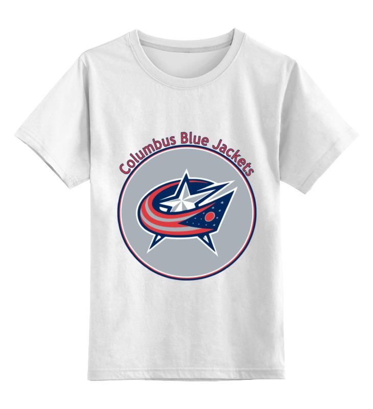 Детская футболка классическая унисекс Printio Коламбус блю джекетс майка классическая printio коламбус блю джекетс