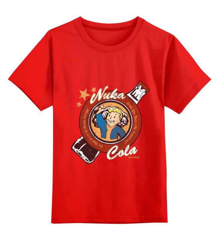 Детская футболка классическая унисекс Printio Fallout nuka cola ice cold детская футболка классическая унисекс printio ice cream
