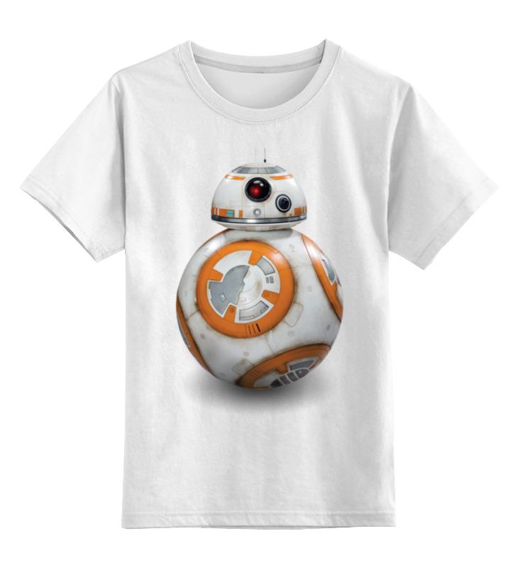 Детская футболка классическая унисекс Printio Star wars/звездные войны дроид bb8 цена 2017
