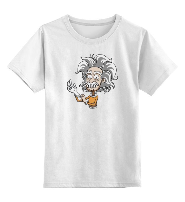 Детская футболка классическая унисекс Printio Альберт эйнштейн майка классическая printio альберт эйнштейн