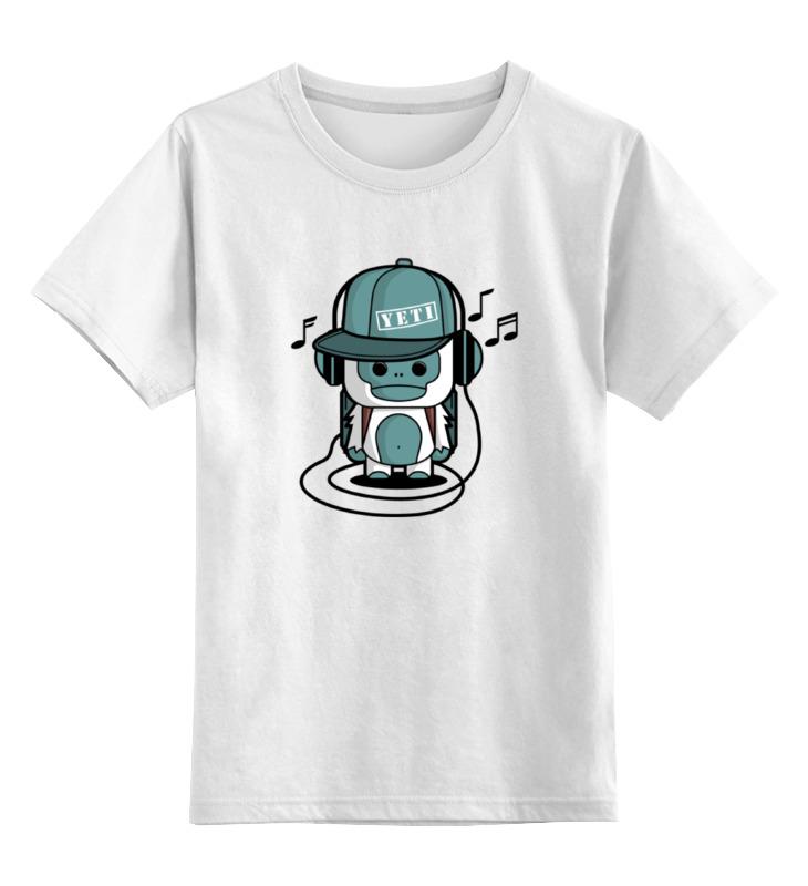 Детская футболка классическая унисекс Printio Йети (монстрик)