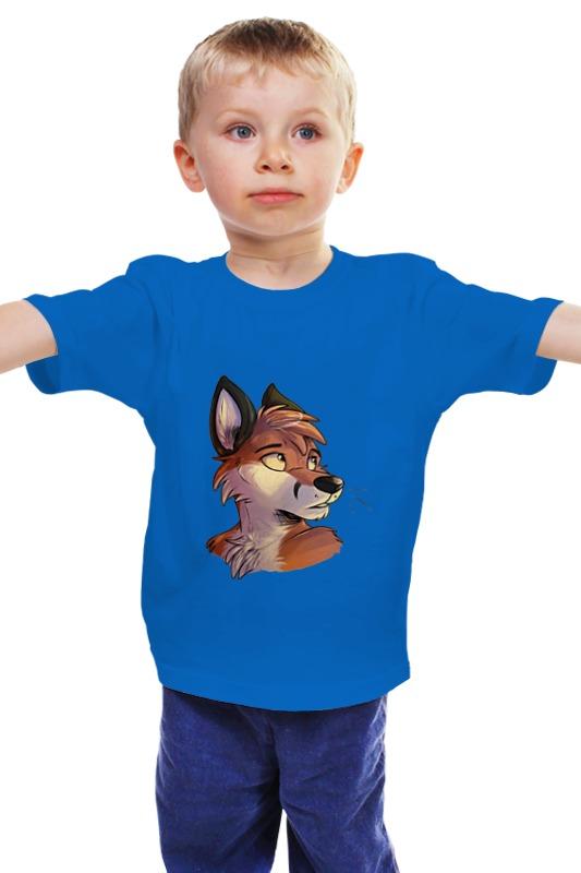 Детская футболка классическая унисекс Printio Лис. детская футболка классическая унисекс printio мачете