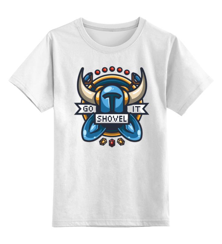 Детская футболка классическая унисекс Printio Рыцарь лопаты рыцарь