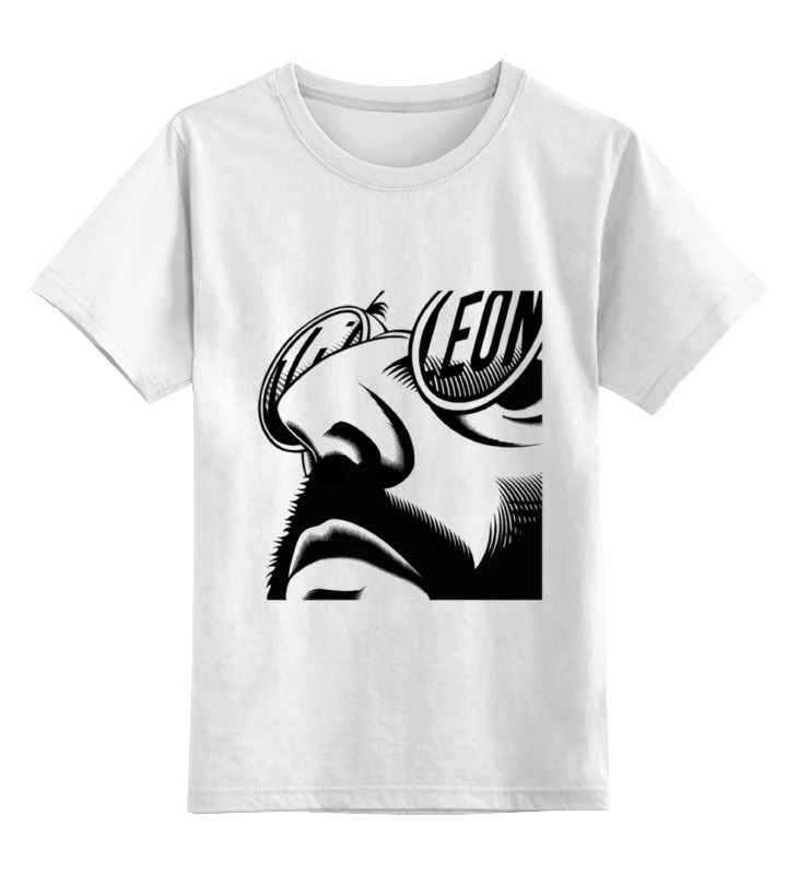 Детская футболка классическая унисекс Printio Фильм леон (leon) футболка wearcraft premium slim fit printio фильм леон leon