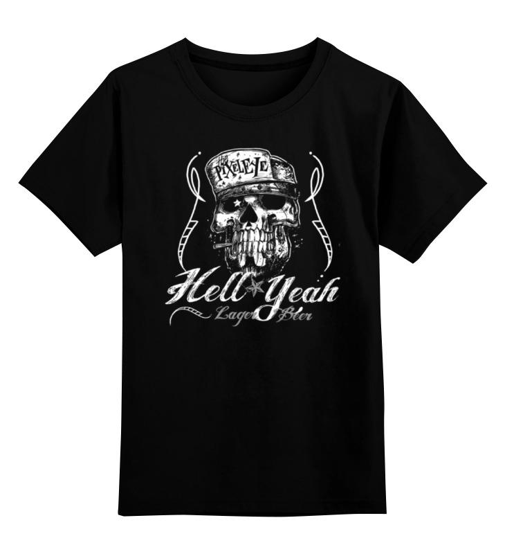 Детская футболка классическая унисекс Printio Hell yeah bprd hell on earth v 7