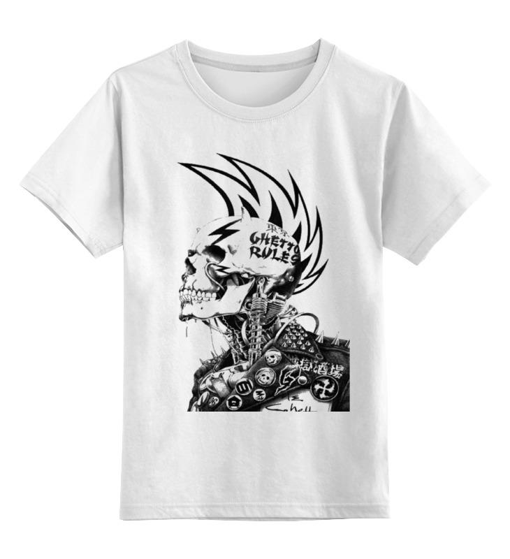 Детская футболка классическая унисекс Printio Рок и ролл цена и фото