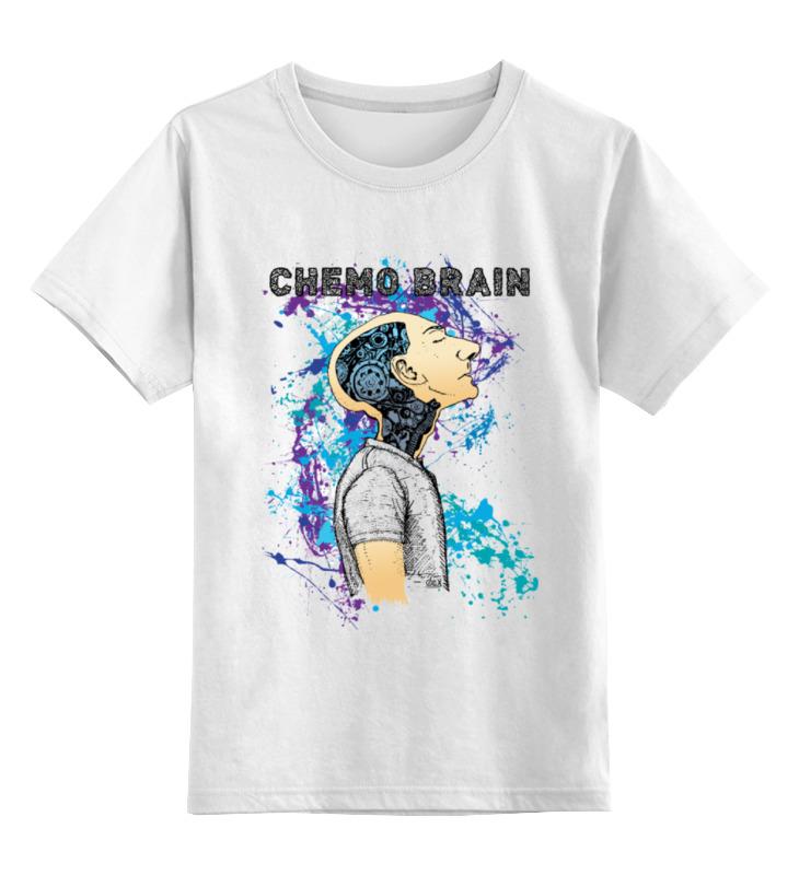 Детская футболка классическая унисекс Printio Химия мозга