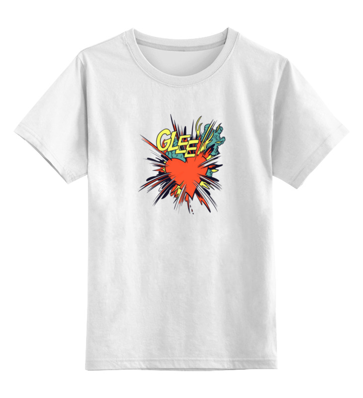 Детская футболка классическая унисекс Printio Glee wisher vol 3 glee