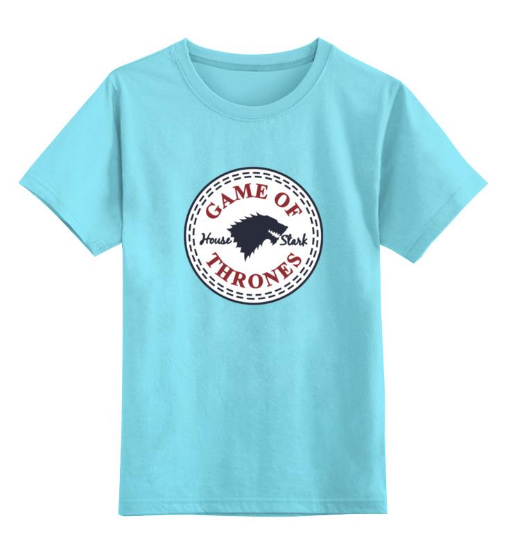 Детская футболка классическая унисекс Printio Дом старков (игра престолов) детская футболка классическая унисекс printio игра слов
