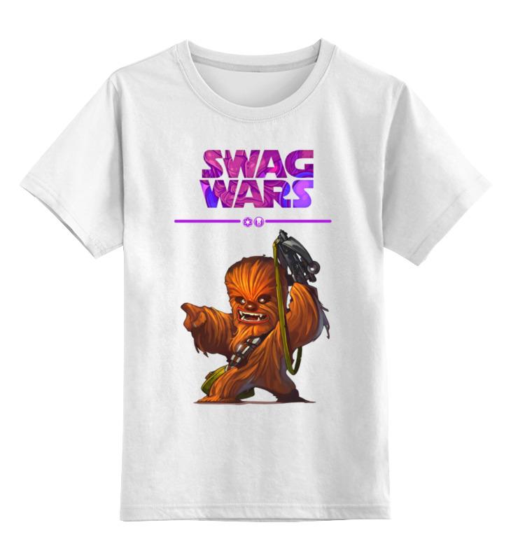 Детская футболка классическая унисекс Printio Swag wars - star wars футболка классическая printio star wars