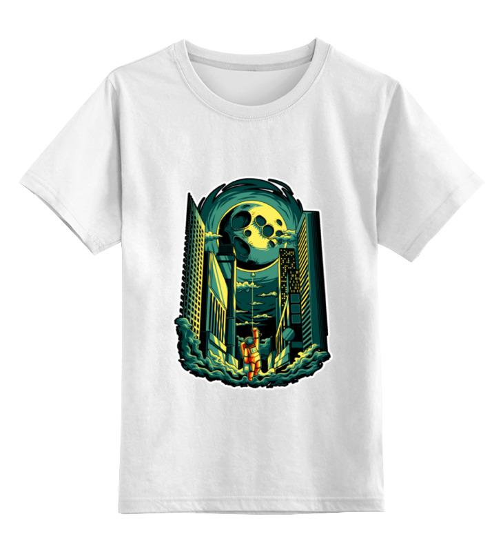 Детская футболка классическая унисекс Printio Космосити футболка классическая printio портрет космонавта