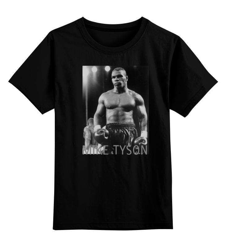 Детская футболка классическая унисекс Printio Mike tyson mike