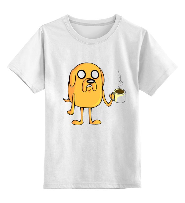 Детская футболка классическая унисекс Printio Время приключений. джейк детская футболка классическая унисекс printio время приключений джейк