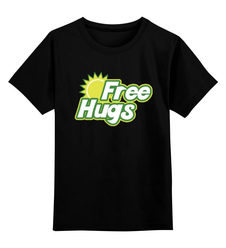 Детская футболка классическая унисекс Printio Бесплатные обнимашки детская футболка классическая унисекс printio обнимашки для котов