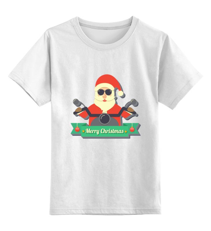 Детская футболка классическая унисекс Printio Новый год футболка классическая printio новый год