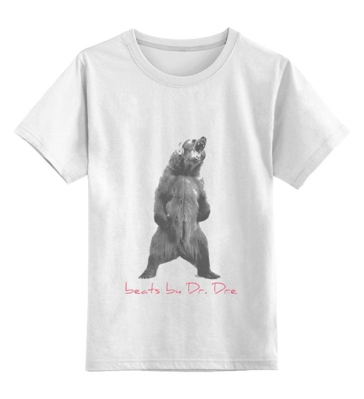 Детская футболка классическая унисекс Printio Beats by dre футболка футболка wearcraft premium slim fit printio beats by dre футболка