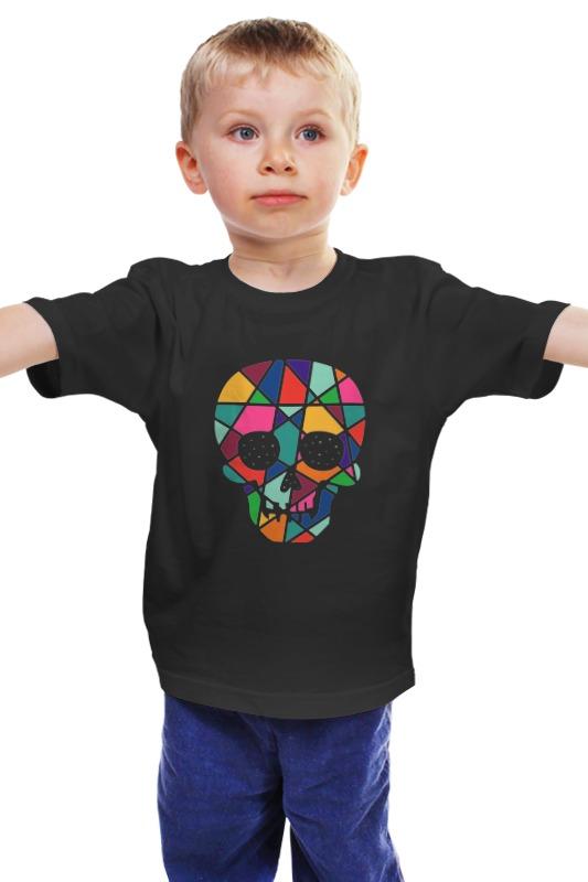 Детская футболка классическая унисекс Printio Череп детская футболка классическая унисекс printio мачете