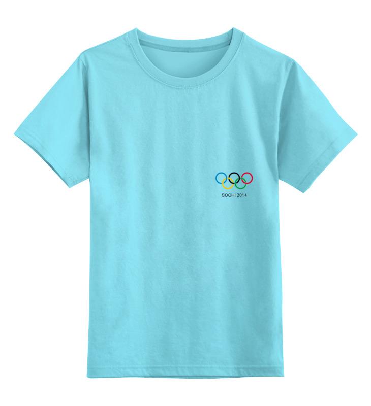 Детская футболка классическая унисекс Printio Сочи 2014 одежда детская