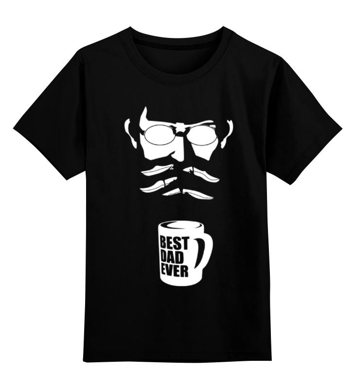 Детская футболка классическая унисекс Printio Лучший отец (best dad ever) best bedtime stories ever