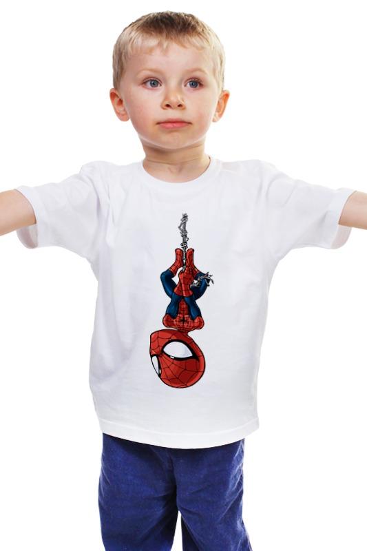Детская футболка классическая унисекс Printio Человек паук marvel гирлянда детская на люверсах с днем рождения человек паук