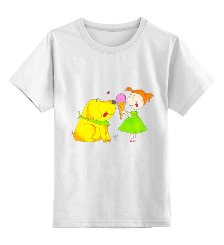 Детская футболка классическая унисекс Printio Дружба крепкая лонгслив printio дружба крепкая