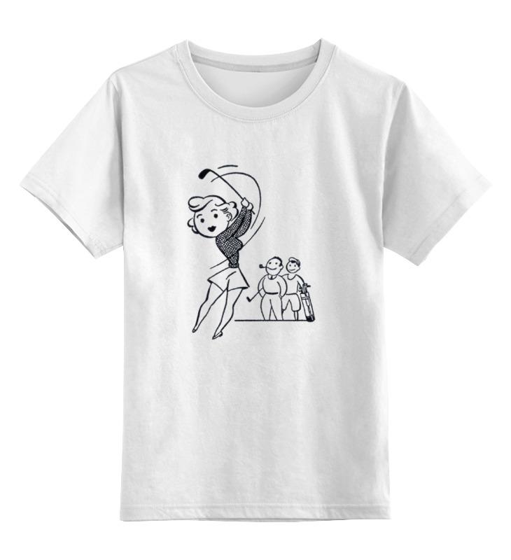 Детская футболка классическая унисекс Printio Keep calm and play golf сумка printio keep calm and play golf