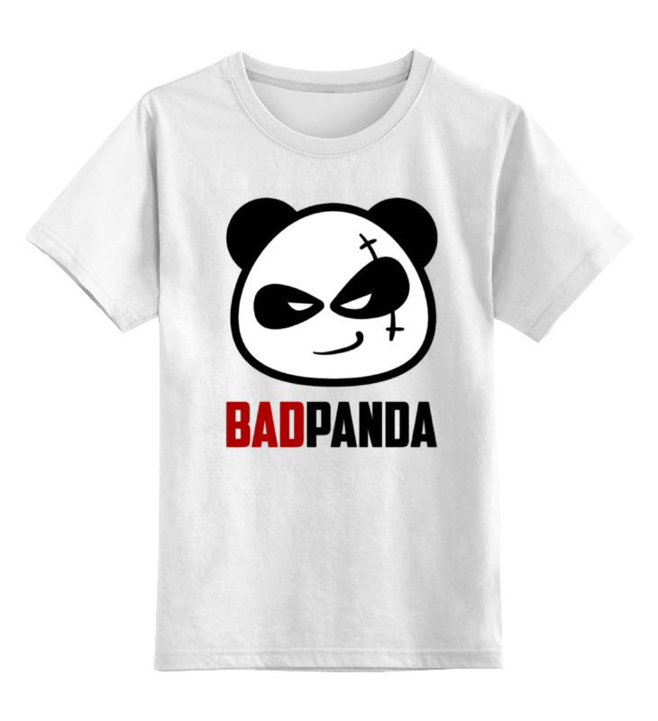 Детская футболка классическая унисекс Printio Bad panda цена