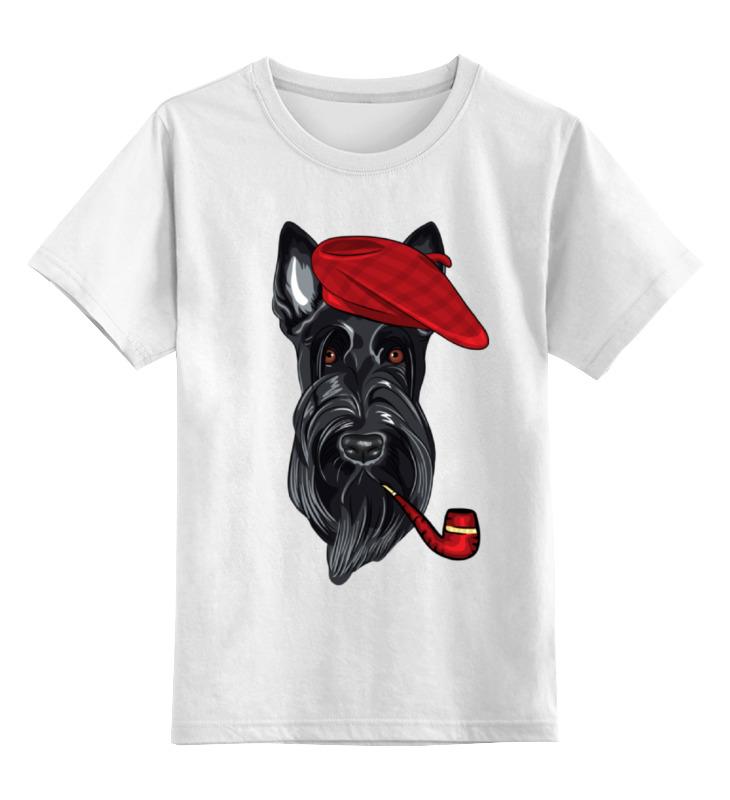 Детская футболка классическая унисекс Printio Шотландский терьер (скотч-терьер)