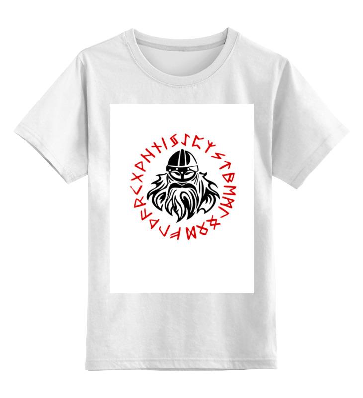 Детская футболка классическая унисекс Printio Вальхалла цена и фото
