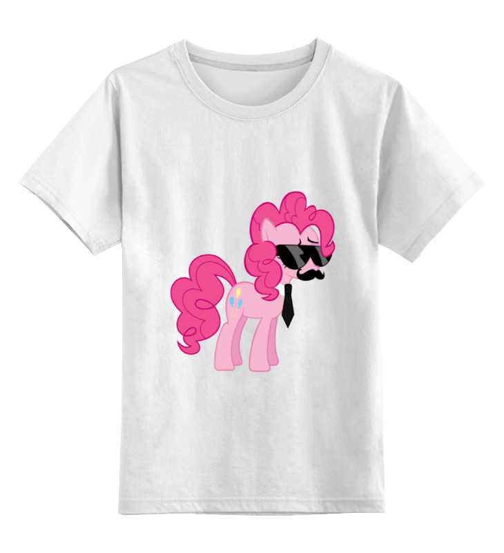 Детская футболка классическая унисекс Printio My little pony - пинки пай (pinkie pie) детская футболка классическая унисекс printio my little pony пинки пай pinkie pie