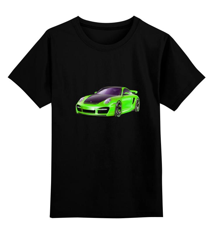 Детская футболка классическая унисекс Printio Машина