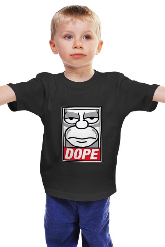 Детская футболка классическая унисекс Printio #dope детская футболка классическая унисекс printio мачете