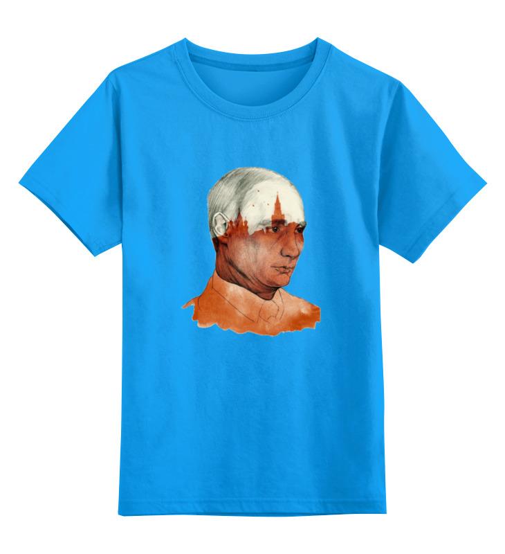 Детская футболка классическая унисекс Printio Путин футболка путин