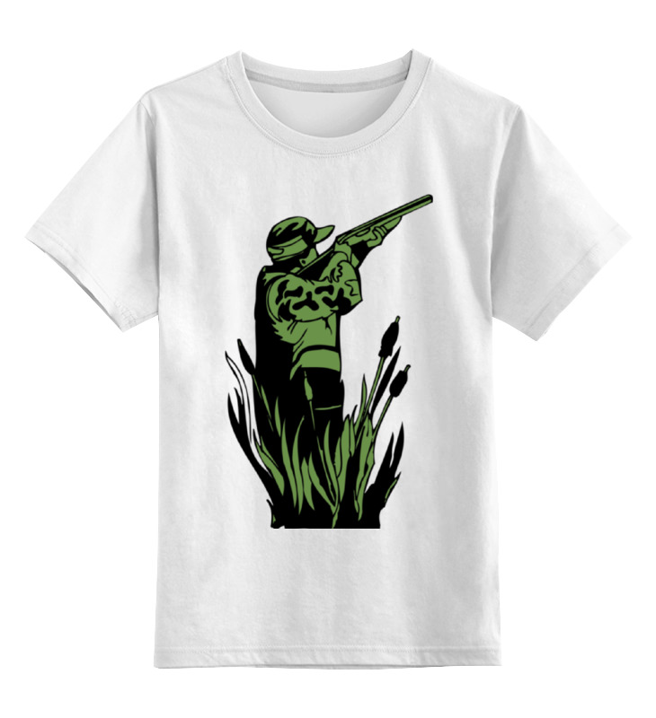Детская футболка классическая унисекс Printio Охотник