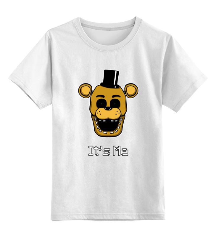 Детская футболка классическая унисекс Printio Freddy (пять ночей у фредди) детская футболка классическая унисекс printio golden freddy