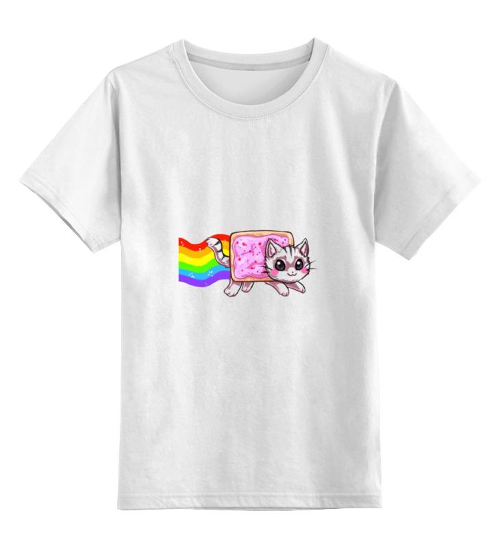 Детская футболка классическая унисекс Printio Nyan cat