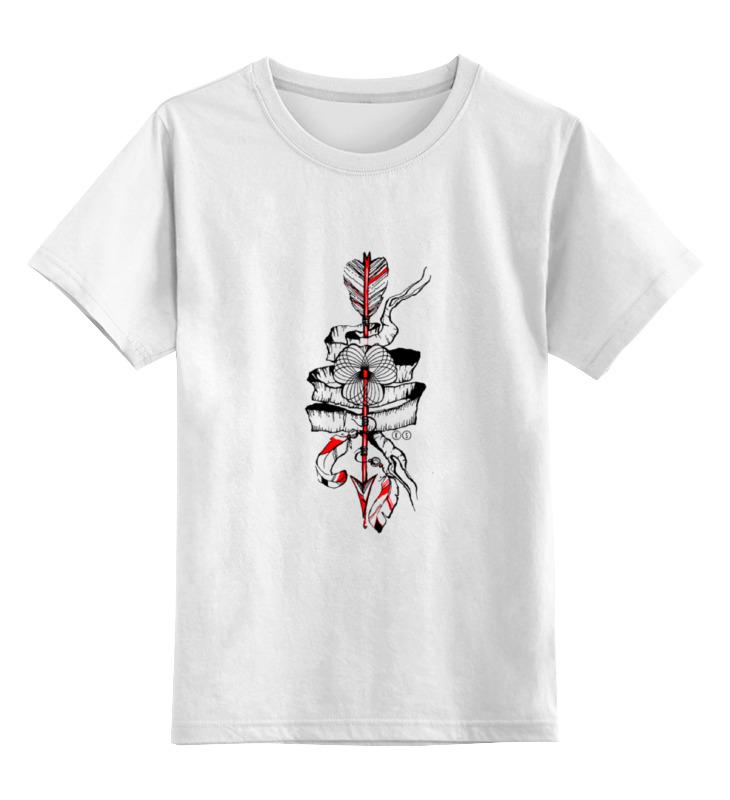 Детская футболка классическая унисекс Printio Arrow т ж детская футболка классическая унисекс printio танк т 90