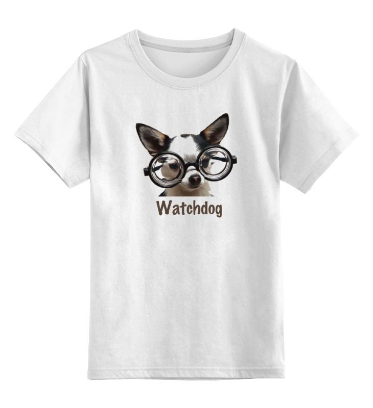 Printio Watchdog футболка классическая printio игра слов