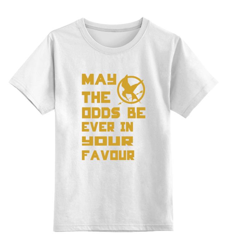 Детская футболка классическая унисекс Printio Голодные игры