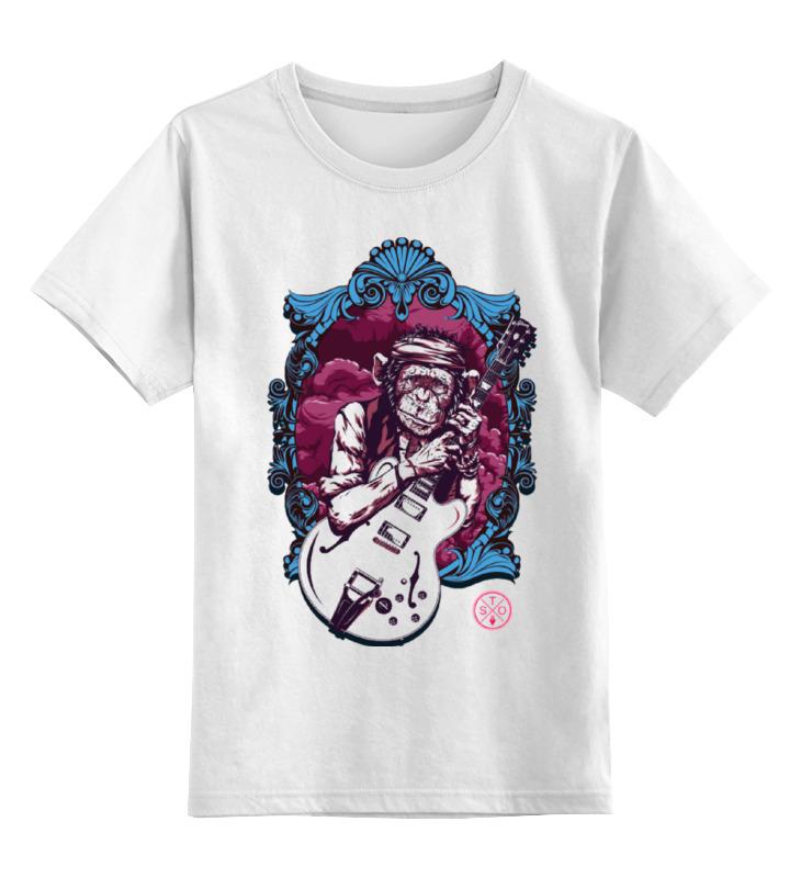 Детская футболка классическая унисекс Printio Кит ричардс толстовка wearcraft premium унисекс printio кит ричардс