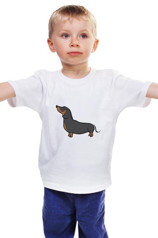 Детская футболка классическая унисекс Printio Такса подставка для колец такса