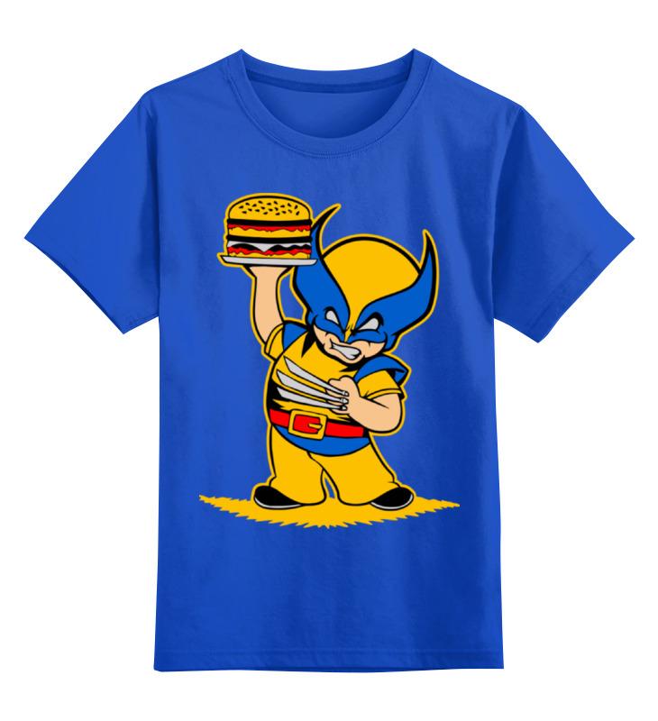 Детская футболка классическая унисекс Printio Росомаха (  wolverine ) детская футболка классическая унисекс printio x men wolverine