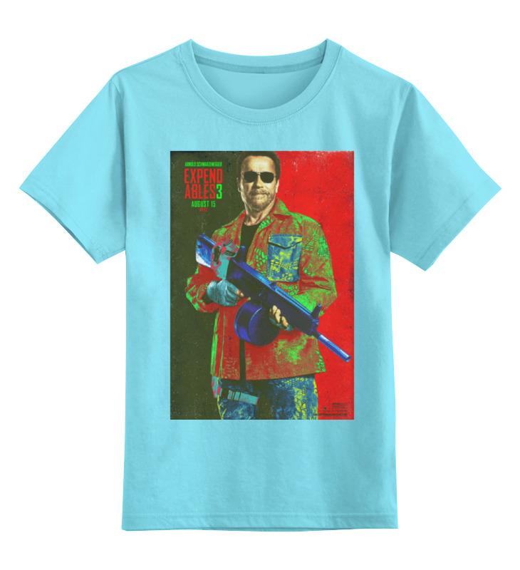 Детская футболка классическая унисекс Printio Expendables iii shwarzenegger colors игровая форма nike футболка детская nike ss precision iii jsy boys 645918 410