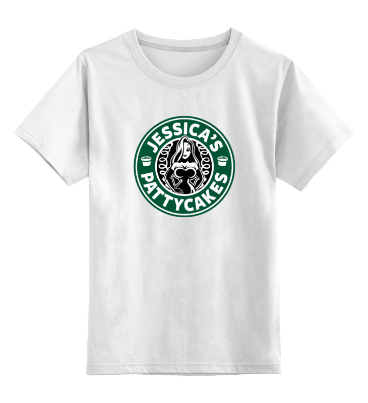 Детская футболка классическая унисекс Printio Джессика рэббит (jessica's pattycakes) color block letter print sleeveless hooded top