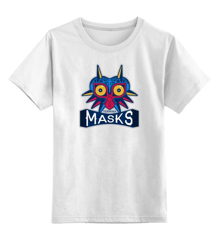 Детская футболка классическая унисекс Printio Majora's mask (зельда) orthodontic reverse pull fact mask dental headgear orthodontic face mask adjustable face mask