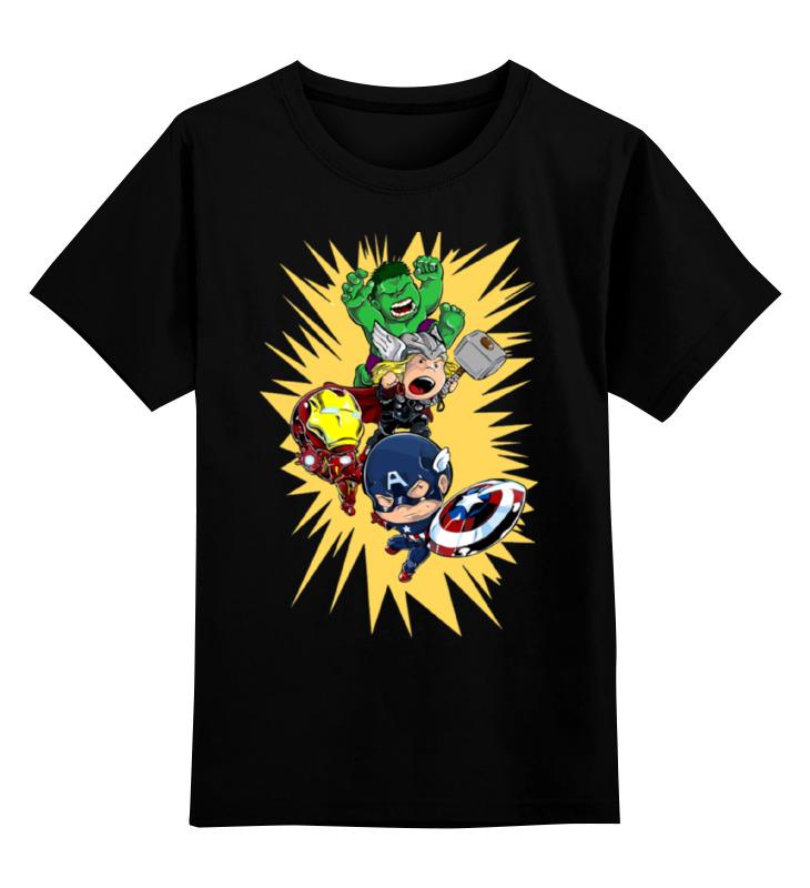 Детская футболка классическая унисекс Printio Герои марвела футболка классическая printio герои марвела
